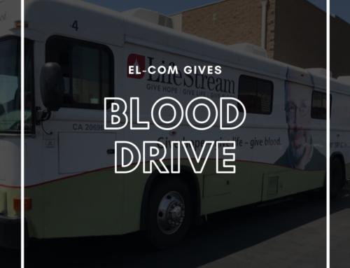 El-Com Gives Annual Blood Drive
